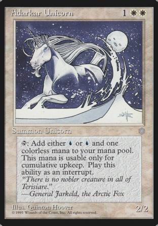 Adarkar Unicorn in Ice Age