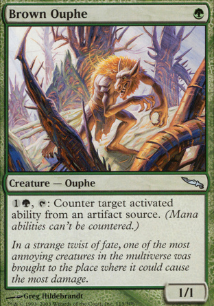 Brown Ouphe in Mirrodin