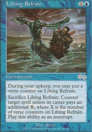 Lilting Refrain in Urza's Saga