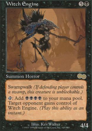 Witch Engine in Urza's Saga